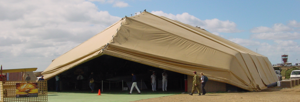 Modular Shelter System Series & Universal Fabric Structures -